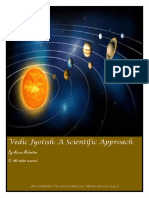 Vedic Jyotish-A Scientific Approach
