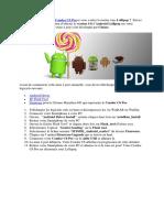 Comment Mettre Condor C6 Pro Sous Android Lollipop