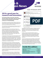 Research and Innovation News Issue 18