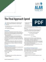 866 - FInal Approach Speed