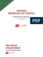 Informe de la Gerencia Administrativa 2012 - 2017