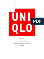 UNIQLO - Company Case Study