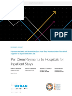 03 Per Diem Payment to Hospitals for Inpatient Stays
