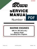 Merc Service Manual 18 4.3 Engines