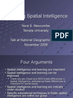 Educating Spatial Intelligence for NGC