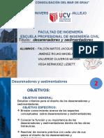 """""""Desarenadores y Sedimentadores"""""""