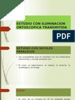 Estudio Con Iluminacion Ortoscopica Transmitida