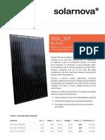 Data SOL GT-black Es