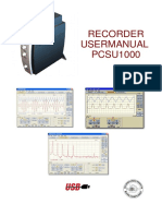 Usermanual Rec Pcsu1000 Uk