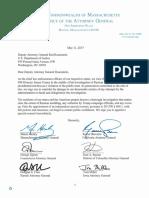 Letter to Deputy AG Rosenstein