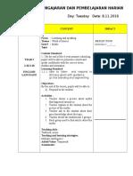 Rancangan Pengajaran Dan Pembelajaran Haria1