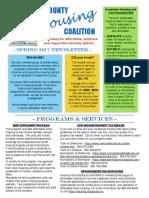 spring 2017 housing newsletter