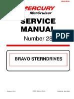 Merc Service Manual 28 Bravo Stern Drives