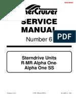 Merc Service Manual 3 Index