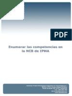Enumerar Competencias IPMA