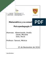 Matemática y Su Enseñanza