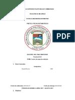 Informe de Centro de Gravedad Partes