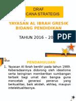 Rencana Strategis ALIBRAH 2015 - 2019
