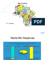 Africa Mn Ore Production