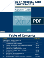 ADA Standards of Medical Care 2012 FINAL