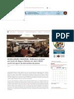 Notícia - Mobilização - Federação de Pesca