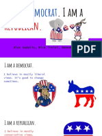 i am a democrat  i am a republican