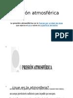 Presión-atmosférica