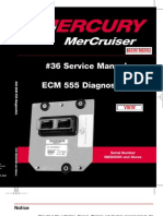 mercury marine ecm repair
