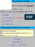Quadratic Expression