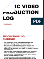 MV Production Log Template-3