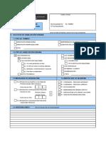 Formulario Unico de Habilitación Urbana - FUHU Licencia