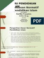Landasan Normatif Pendidikan Islam