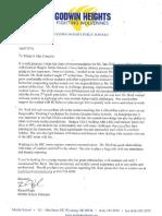 pugh recommendation letter