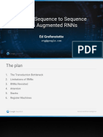 Edward Grefenstette - Beyond Sequence to Sequence With Augmented RNNs