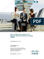 Cisco Collaboration System 11.x - SRND