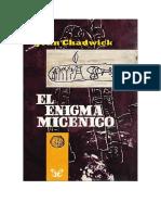 Chadwick John - El Enigma Micenico.doc