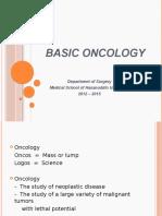 1. Basic Oncology 2012-2015