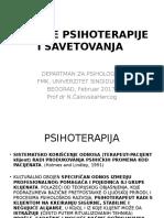 1. Uvod u Psihoterapiju