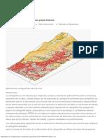 Aplicaciones cartográficas para drones