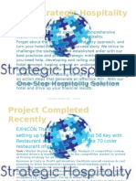 Strategic Hospitality Consultant