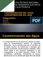 Contaminación Del Agua y Del Aire