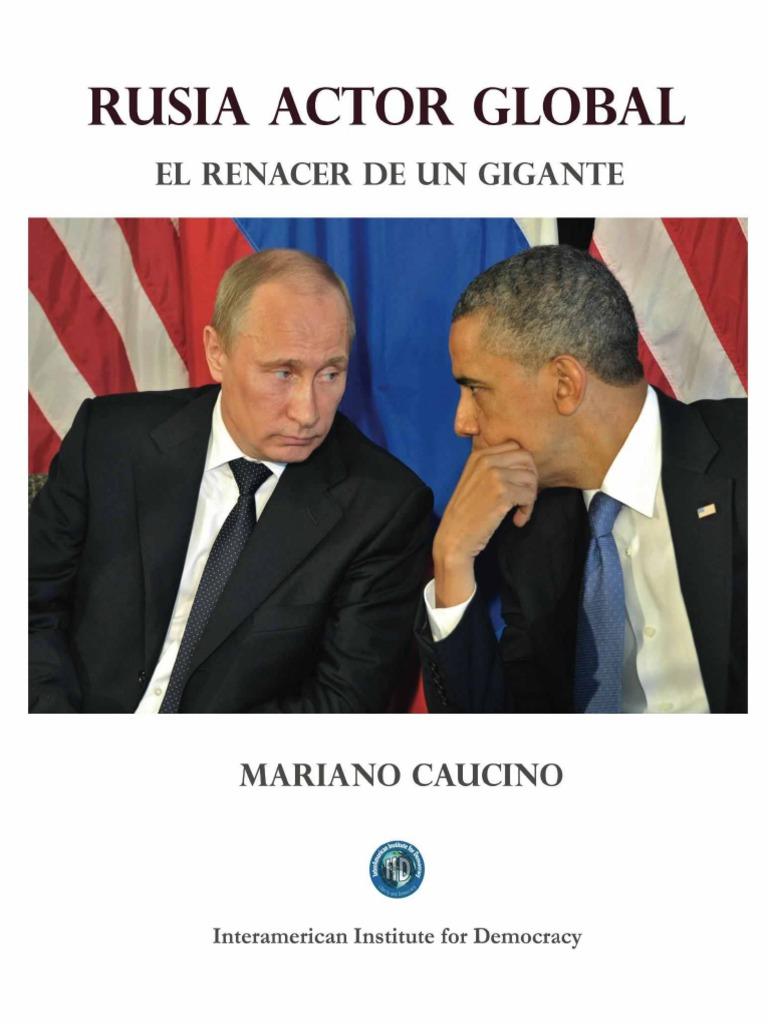 Rusia Actor Global El Renacer de Un Gigante Spanish Edition_nodrm