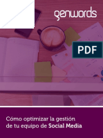 eBook Gestión de Social Media_Genwords