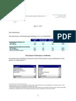 Pershing Square 1Q17 Shareholder Letter May 11 2017 PSH