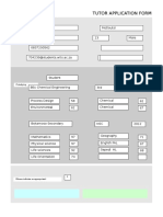 XL Tutor Application Form JHB (2017) Final