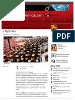 DERECHO COMERCIAL I (PARTE GENERAL) - Backus se reorganiza y creará dos empresas _ Semana Económica