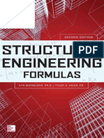 Structural Engineering Formulas Second Edition