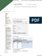 Creating Organization Management Infotype