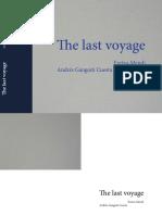 """The Last Voyage"" de Andrew Gangoiti"