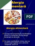 ALERGIA Alimentara